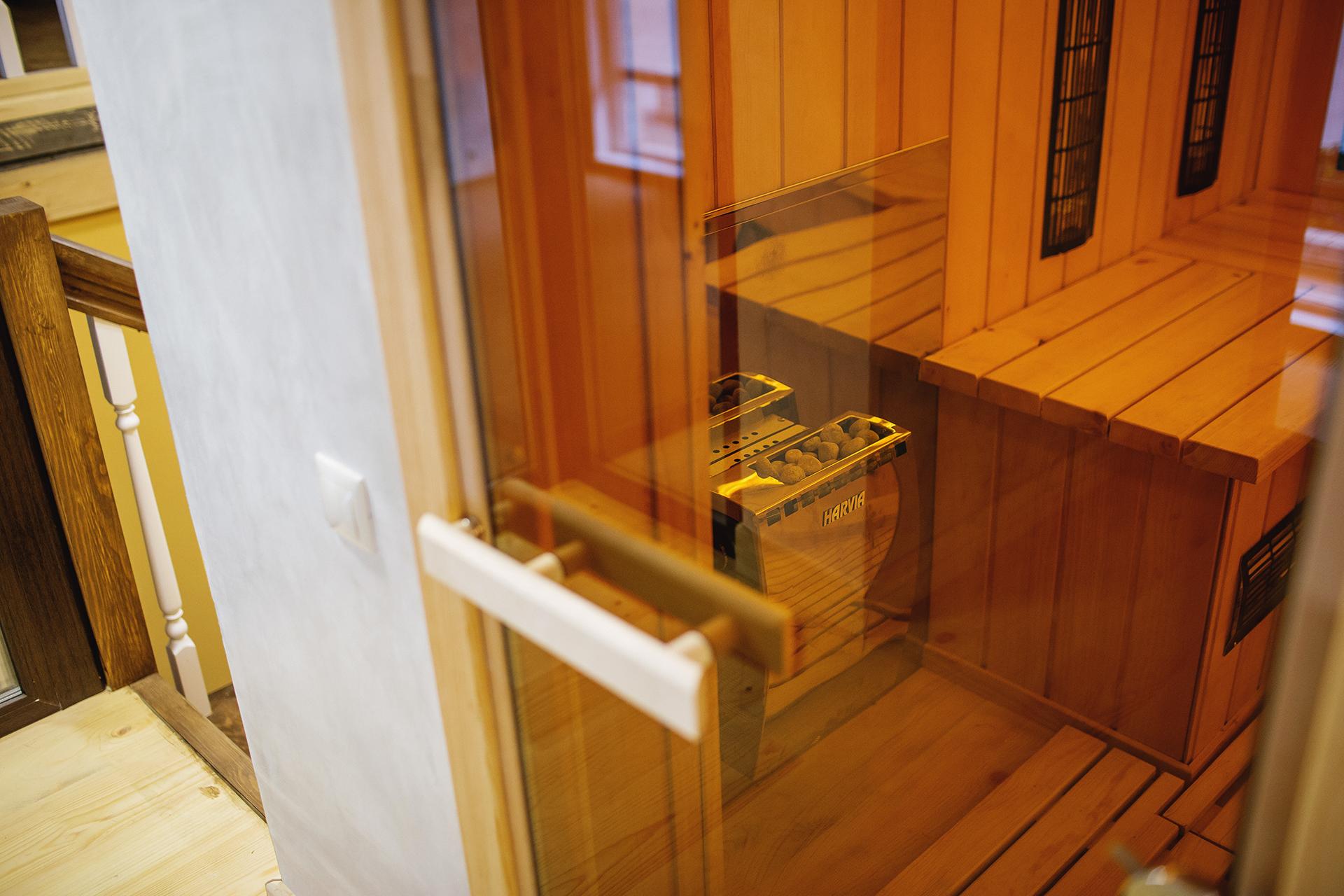 Инфракрасная сауна, Студия йоги Virgou в Омске