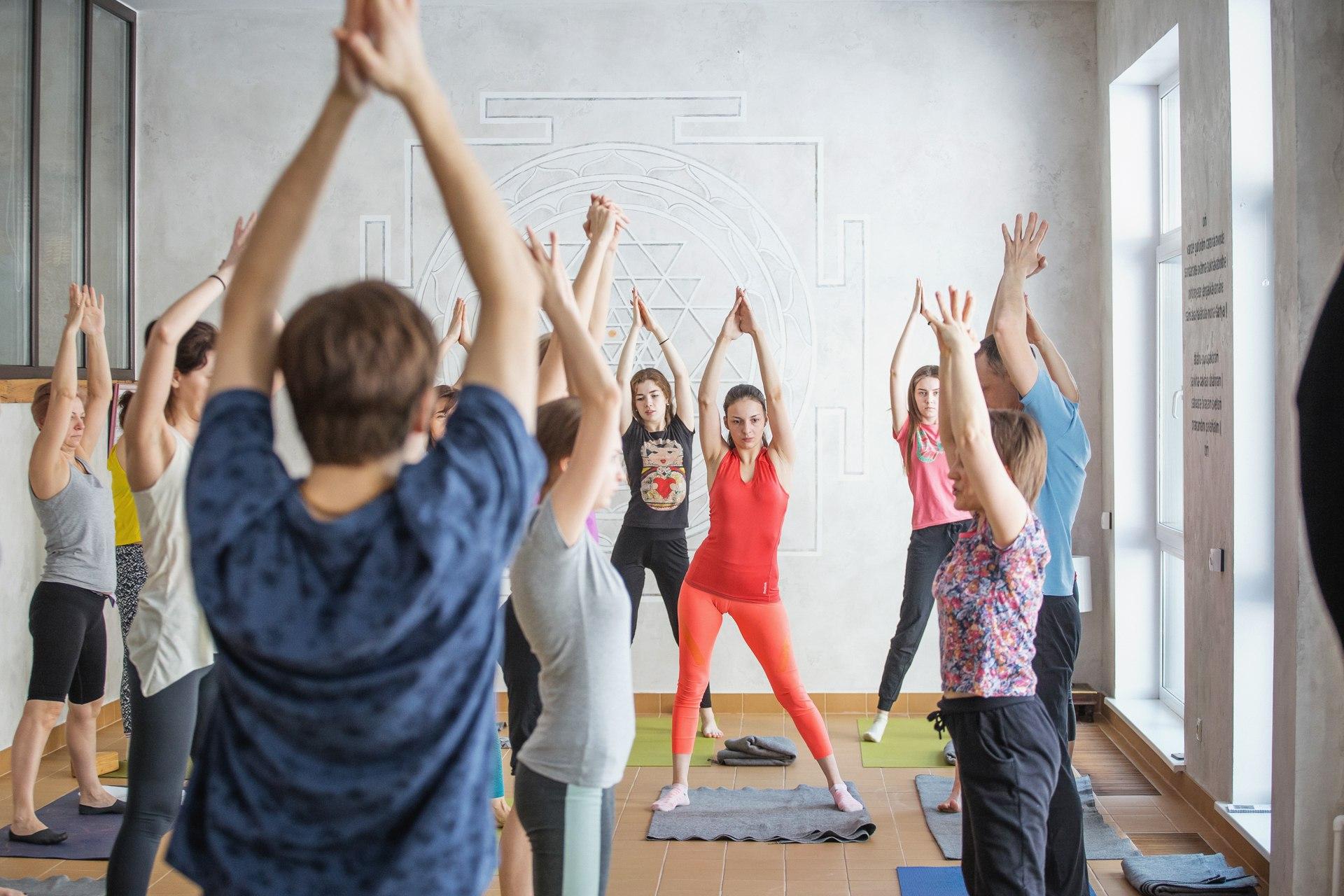 Группа здоровья, студия йоги Virgou в Омске